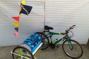 Mitch Shivers' Washing Machine is Powered by a Bicycle