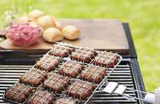 Gourmet Burger Baskets - The Slider Grilling Basket Helps You Make Itty-Bitty Hamburgers