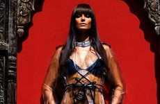 Elena Baguci in 'Almighty Goddess' for Modern Luxury