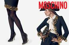 Alessandra Ambrosio is Fierce for Moschino F/W 2010-11 Campaign