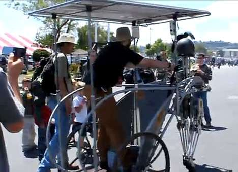 Solar Powered Walking Chariot