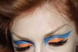 Clashing Cosmetics Punctuate Dior's Fall/Winter 2010 Haute Couture Collection
