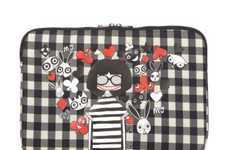 Fashionista Gadget Sleeves - The Marc by Marc Jacobs 'Miss Marc' 3D Laptop Case