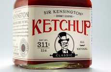 Giant Gastronomic Condiments - Sir Kensington's Gourmet Scooping Ketchup is Fancy