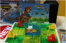 Gamer-Friendly Board Games - Super Mario Kart Board Game is a Tangible Version of the Video Game