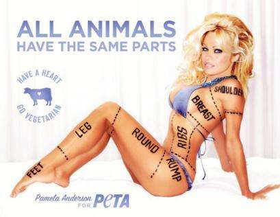Pamela Anderson PETA