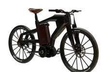 PG Bikes' 'Blacktrail' Bicycle Can Go 62 Miles Per Hour