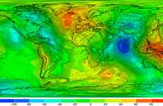 Gravity-Sensitive Science - Space Satellite Produces World's First-Ever Gravity Field Map