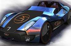 Open-Air Super Sedans - The Mayeul Walser E-Flow is a Lightweight Extreme Automotive