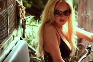 The Lindsay Lohan German GQ Photo Shoot is Scantily Clad