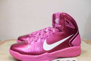 The Nike 'Think Pink' Hyperdunk 2010 is Very Bright and Eye-Cat