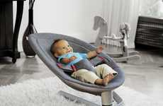 Eco-Savvy Baby Seats - The Green Nuna LEAF Will Sway Your Infant to Sleep