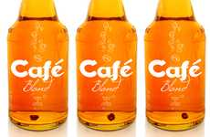 Citrus-Infused Alcohol - 'Cafe Blond' Ensures Your Beer is Lemony Fresh