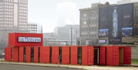 Shipping Container Sales Office