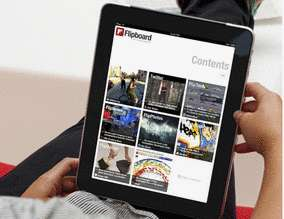 Social Media Magazines - Flipboard Places Your Network Updates in a Print-Like Format