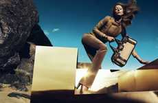 The Gucci Fall/Winter 2010 Ads are Desert Hot