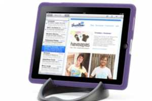 The Loop iPad Stand will Ensure Your Gadget Stays Upright