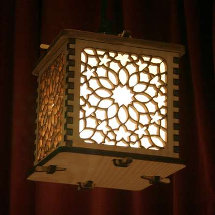 Laser cut lanterns