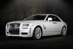 The Mansory Rolls-Royce White Ghost is an All-White Stunner