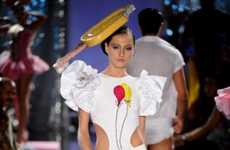 Ruffled Shoulder Swimwear - The Walerio Araujo Spring/Summer Collection Makes a Splash