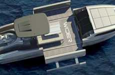 Retractable Super Yachts