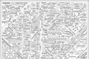 Dan Cassaro's 'Springstreets' are Maps of Bruce Springsteen Songs