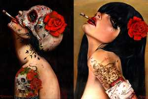 Brian Viveros Creates Vivid Imagery Through Illustrations
