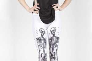 The Black Milk Anatomist Leggings Are Morbidly Fashionable