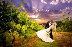 Surreal Wedding Photography - Jon-Mark's HDR Bridal Shoots Add Drama to Your Special Day