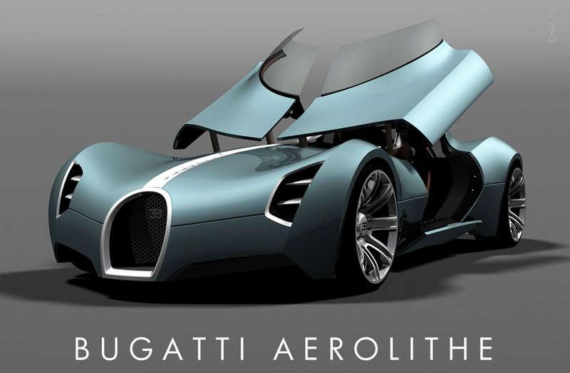 Futuristic Supercars