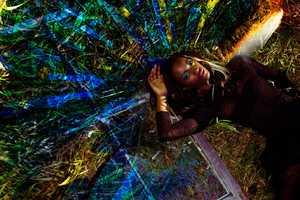 Lucyna DanUta Bakowsk's 'Black Neon' Photo Series