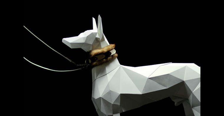 Architectural Paper Canines