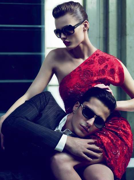 Giorgio Armani Fall 2010 Campaign