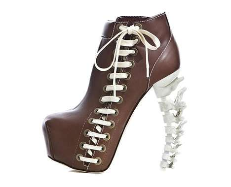skeletal shoe designs