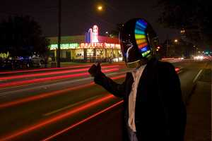 Harrison Krix Makes an Epic Replica of the Daft Punk Helmet