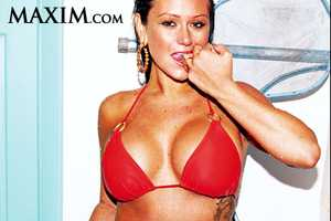 JWOWW Maxim Shoot Omits 'Jersey Shore' Jenni Farley's Navel