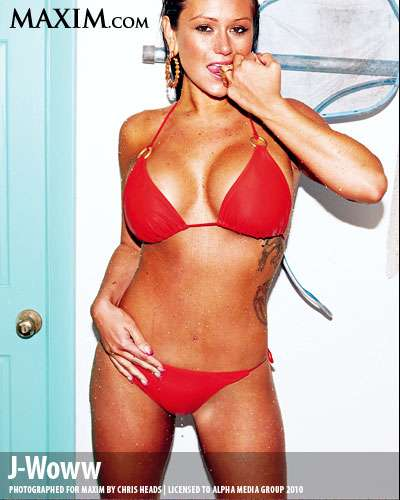 jwoww maxim shoot