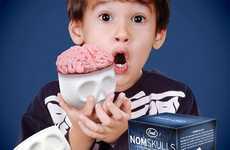 Morbid Cranium Cupcakes