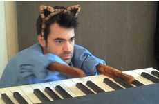 Cat Meme Parodies - Ron Livingston Parodies the YouTube Keyboard Cat Video