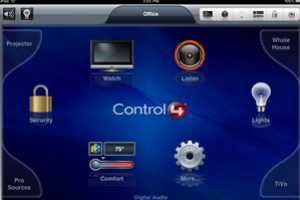 The Control4 iPad App Lowers Your Home's Energy Consumption