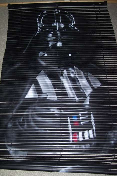 Darth Vader Venetian Blinds