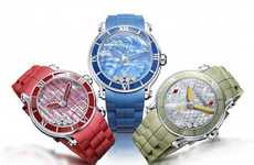Vibrant Luxury Watches - The Chopard Happy Sport XL has a Splash of Color