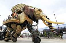 Life-Like Robot Mammals - The Great Elephant is a Massively Recycled Ride