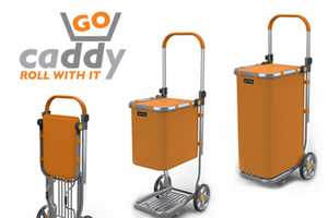 The Quirky Crowdsourced 'Go Caddy' Hand Truck is Super Convenient