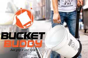 Bucket Buddy Lets You Do Your Plant-Watering Chores With Ease