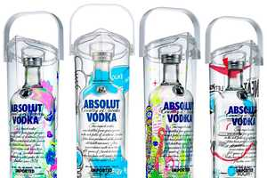'The Absolut Art of Sharing' Campaign by Absolut Vodka