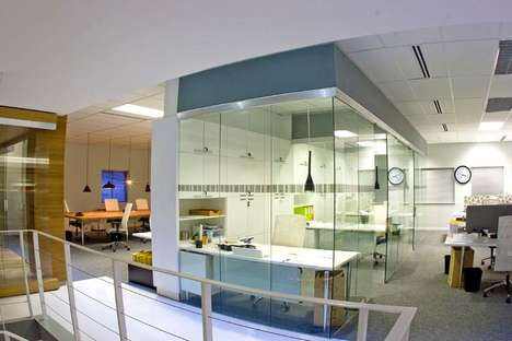 Union Swiss Office Interior by Inhouse Brand Architect