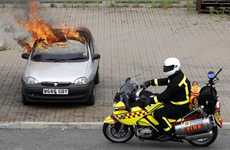 Fire Extinguishing Two-Wheelers