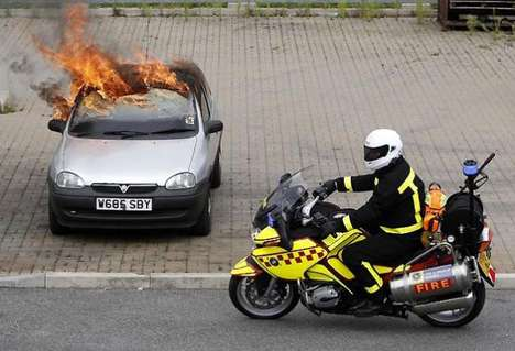 Firefighting Motorbike