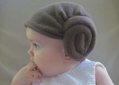 Princess Leia Hair Hat